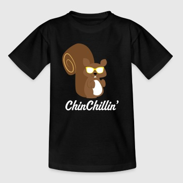 Chinchilla Chillen - Kinder T-Shirt