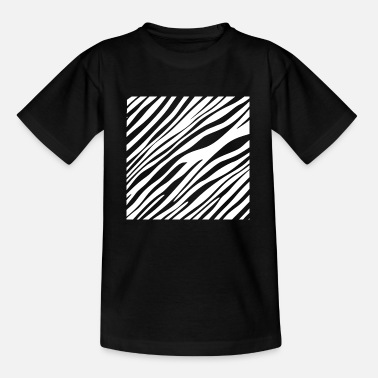 Zebra Stripes Zebra stripes - Kids' T-Shirt