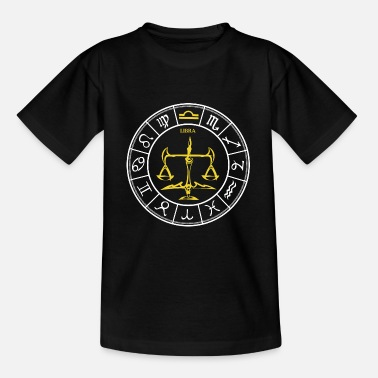 Zodiac Zodiac Libra Libra zodiac signs of the zodiac - Kids' T-Shirt