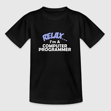 Relaxi am a programmer - Kids' T-Shirt