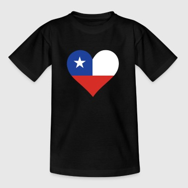 A Heart For Chile - Kids' T-Shirt