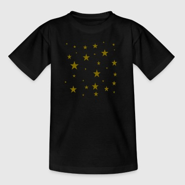 gold stars - Kids' T-Shirt