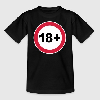 18th / 18th birthday. / 18+ - Kids' T-Shirt