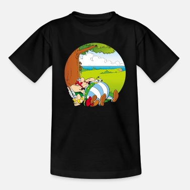 Asterix & Obelix Dogmatix Relaxing - Kids' T-Shirt
