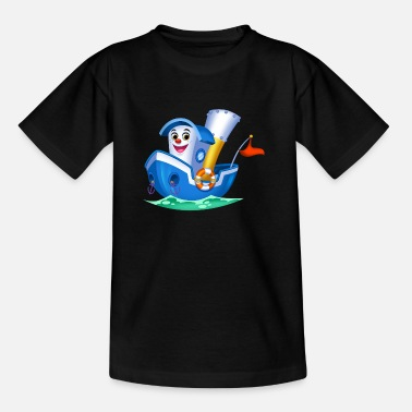 Little Arthur Collection Boat - Kinderen T-shirt