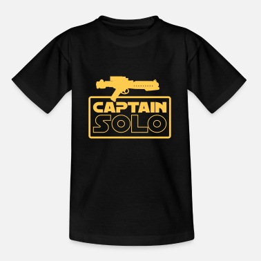 Solo Captain Solo - Kinder T-Shirt