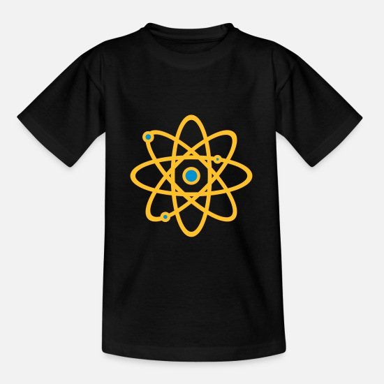 Geek T-Shirts - Atom - Kids' T-Shirt black