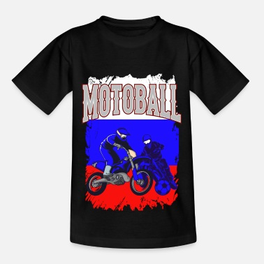 Motocross Motoball Ryssland Motocross Moto Ball Gift - T-shirt barn