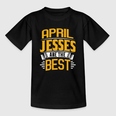 April Jesses - Kinder T-Shirt