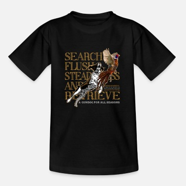 Springer Spaniel flushing spaniel - Kids' T-Shirt