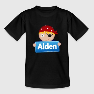 Aiden Little Pirate Aiden - Kids' T-Shirt