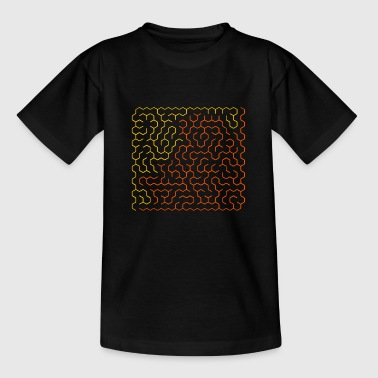 Solved labyrinth - Kids' T-Shirt