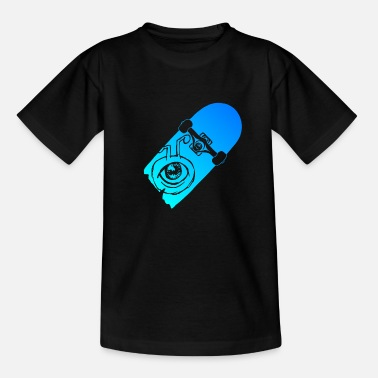 Deck skate deck - Kinder T-Shirt