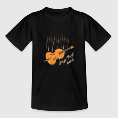 Kontrabass Cello Bratsche - Kinder T-Shirt