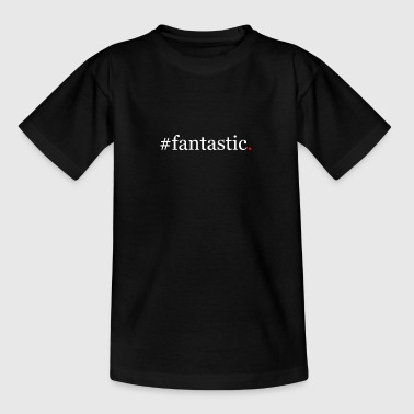 Design roter Punkt fantastic - Kinder T-Shirt