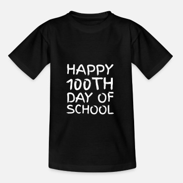 Short Speech On Teachers Day In English 100th day of School Novelty Gifts - Kids' T-Shirt