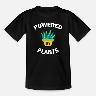 Powered By Plants - T-shirt Enfant