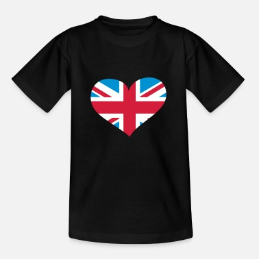Kingdom Hearts United Kingdom Herz; Heart UK - Kinderen T-shirt