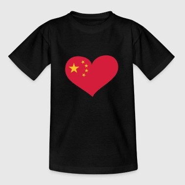 China China Herz; Heart China - Maglietta per bambini