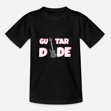 Guitar Dude Guitar: guitar dude - Kids' T-Shirt