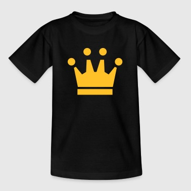 King Princess Crown Winner King Queen Princess - Kids' T-Shirt