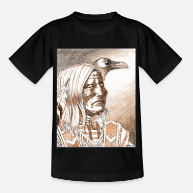 Indien Crow - T-shirt Enfant