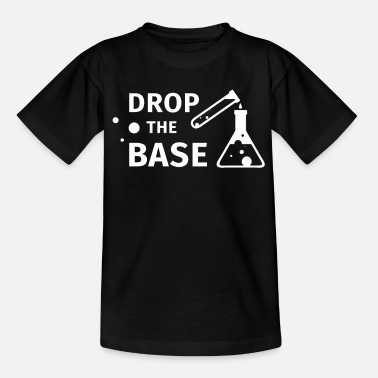 Just Drop The Base, Funny Gift for him her, Wifey - Kids' T-Shirt