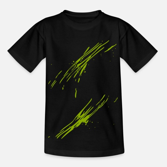 New T-Shirts - Trend abstract - Kids' T-Shirt black