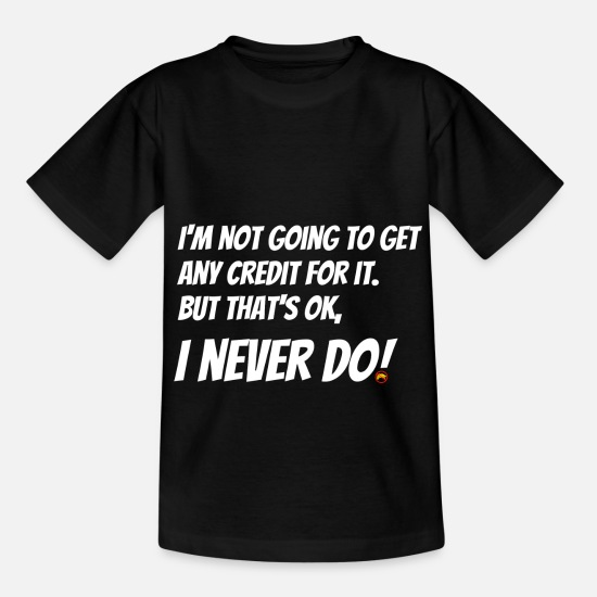 Birthday T-Shirts - no credit - Kids' T-Shirt black