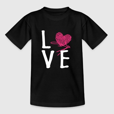 Love Knitting - Kids' T-Shirt