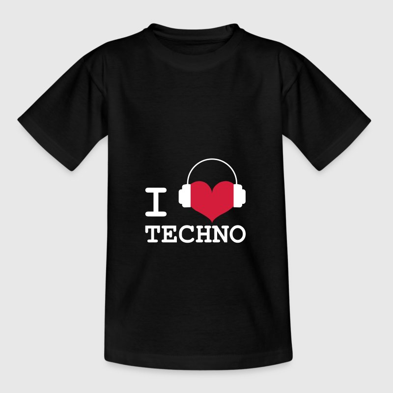 I Love Techno ! - Camiseta niño