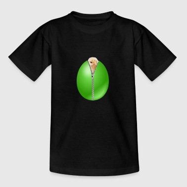 zipper egg - Kinder T-Shirt
