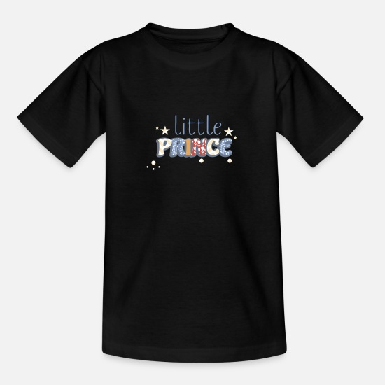 Proverbi Magliette - Design principe PM Fashion Kids Statement - Maglietta per bambini nero