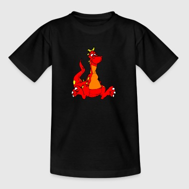 roter Drache - Kinder T-Shirt