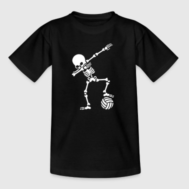 Dab dabbing skeleton (beach) volleyball - Camiseta niño