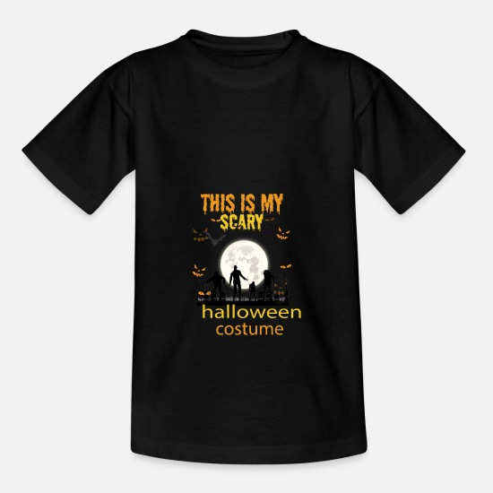Birthday T-Shirts - Halloween costume - Kids' T-Shirt black