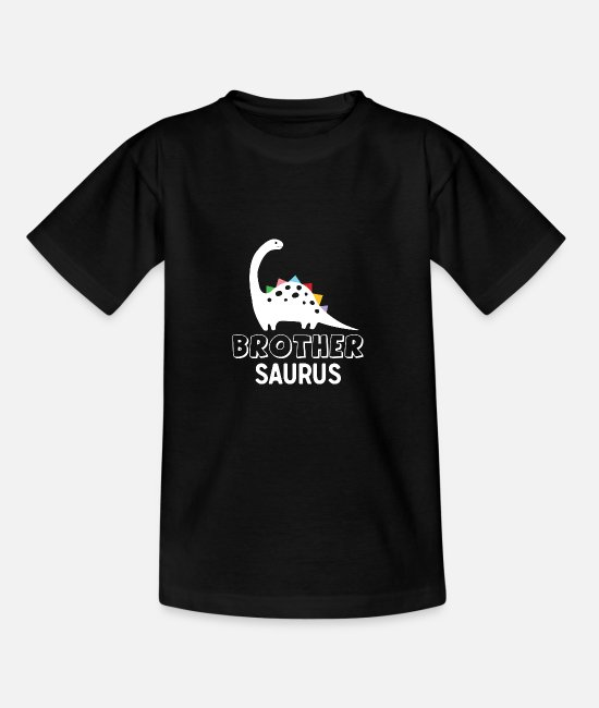 Dinosaurs T-Shirts - Brother Saurus - Kids' T-Shirt black