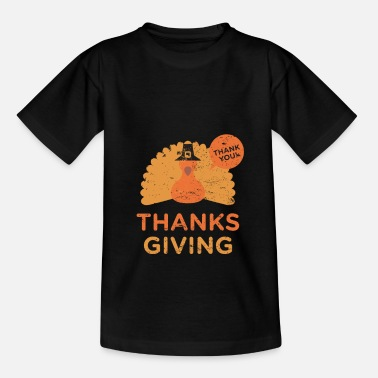 Thanksgiving thanksgiving - Kinder T-Shirt