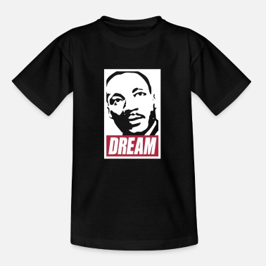 Obey Disobey Obey x Dream MLK 2c_noir - Kids' T-Shirt