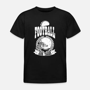 Cadeau de tacos de casque de football taco Body bébé bio manches ... 6dbf2b183fb02