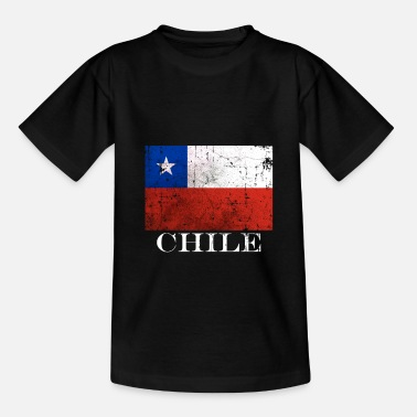 Chile Chile flag - Kids' T-Shirt