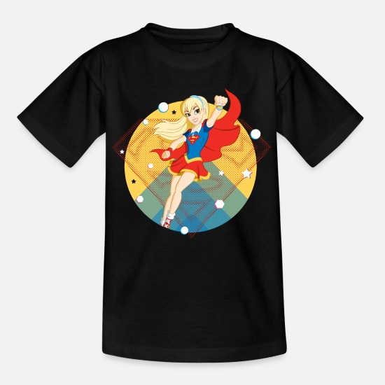 Super T-shirts - DC Super Hero Girls Supergirl - T-shirt til børn sort