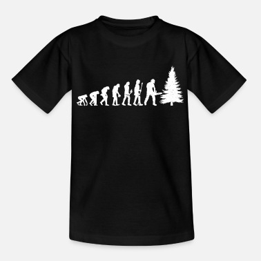Holzmann Lumberjack Tree Cutter Chainsaw Forester Profession - Kids' T-Shirt