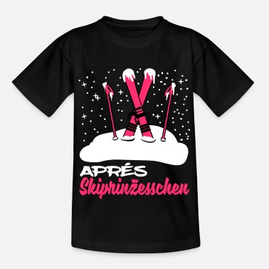 Funny Apres Ski Princesses T-Shirt Skiing - Kids' T-Shirt