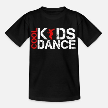 Kids &amp Cool kids dance vintage - Kinderen T-shirt