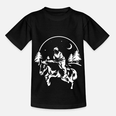 Orienteering Orientation riding - Kids' T-Shirt