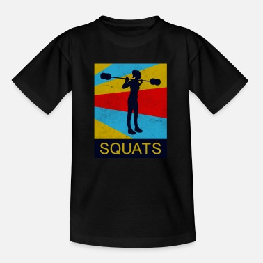 Squat Squat - Kinder T-Shirt