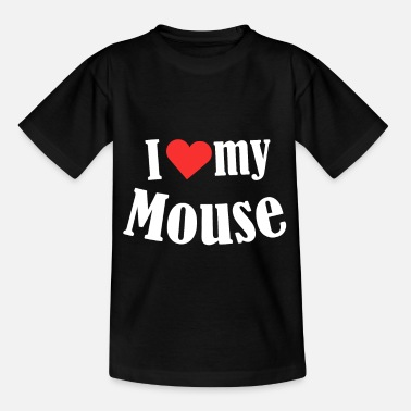 Rodent I Love My Mouse Mice Rat Rodent Animal Pet Gift - Kids' T-Shirt