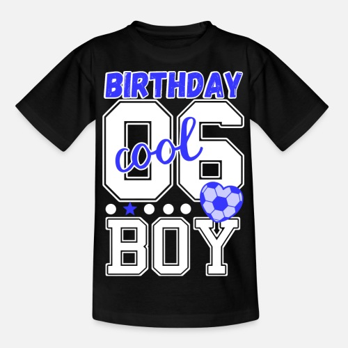 Kids T Shirt6th Birthday 6 Years Old Boy