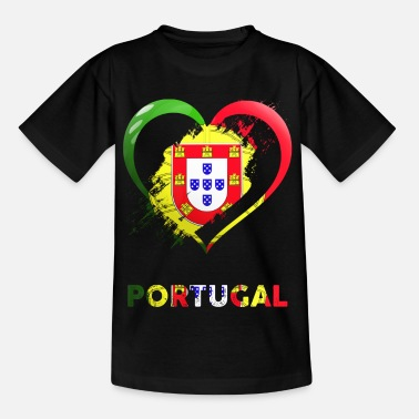 Portugal Portugal heart - Kids' T-Shirt